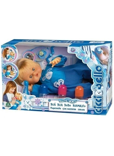 Cicciobello Cicciobello Çok Hastayım Oyuncak Bebek  Renkli